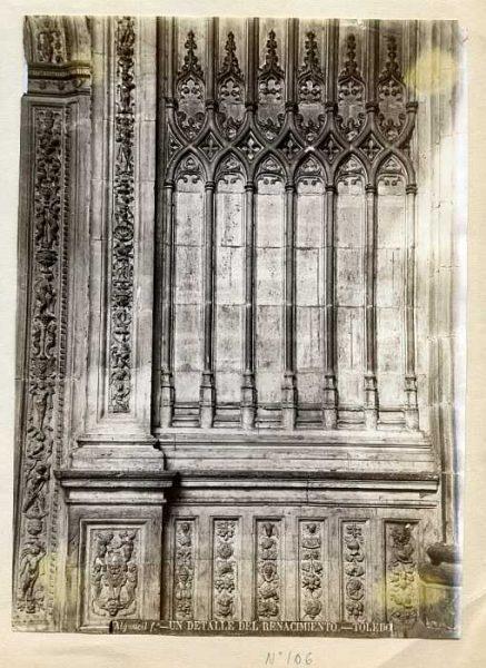 Catedral-Detalle del Renacimiento-Colección Luis Alba_LA-233068-PA
