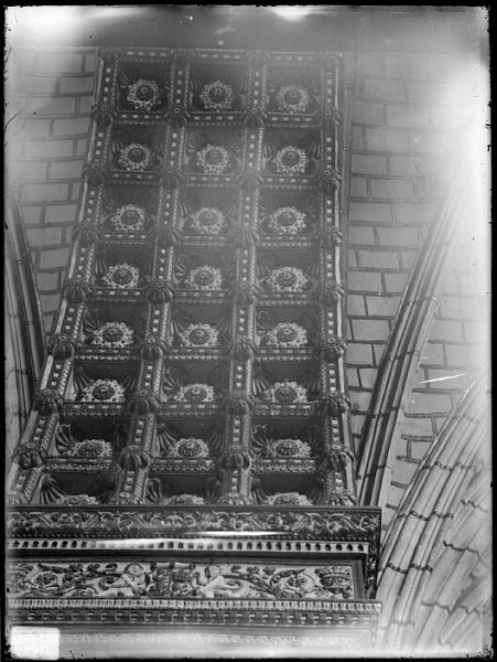 Catedral-Detalle del techo de la Capilla de Reyes Nuevos_CA-0092-VI