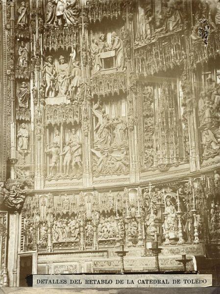Catedral-Detalles del retablo de la Capilla Mayor_CA-0073-PA