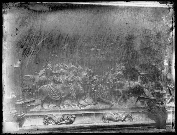 Catedral-Escena de la Rendición de Setenil en la sillería baja del coro_CA-0144-VI