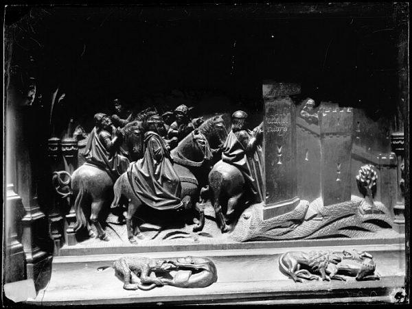 Catedral-Escena de la Toma de Vélez Rubio en la sillería baja del coro_CA-0129-VI