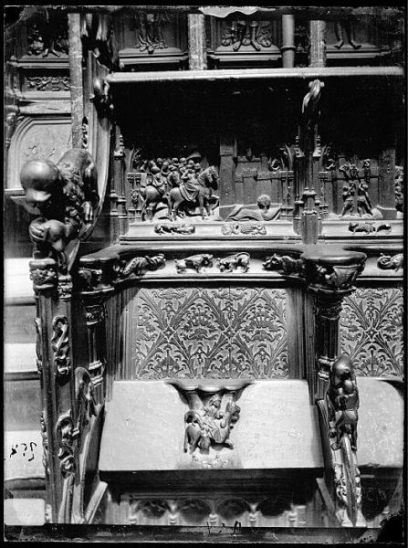 Catedral-Escenas de la Guerra de Granada en la sillería baja del coro_CA-0147-VI