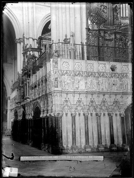 Catedral-Exterior del coro_CA-0113-VI
