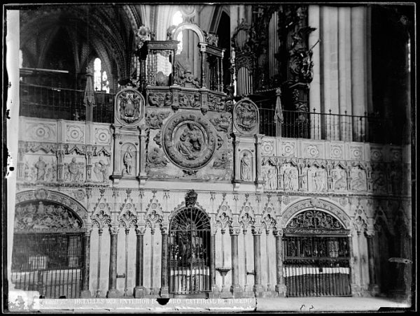Catedral-Exterior del coro_CA-0115-VI
