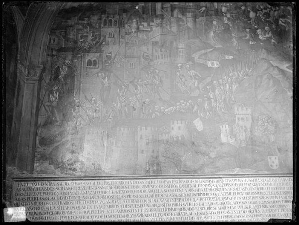 Catedral-Fresco de la Toma de Orán de Juan de Borgoña en la Capilla Mozárabe_CA-0084-VI