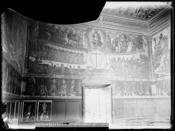 Catedral-Fresco del Juicio Final de Juan de Borgoña en la Sala Capitular_CA-0268-VI