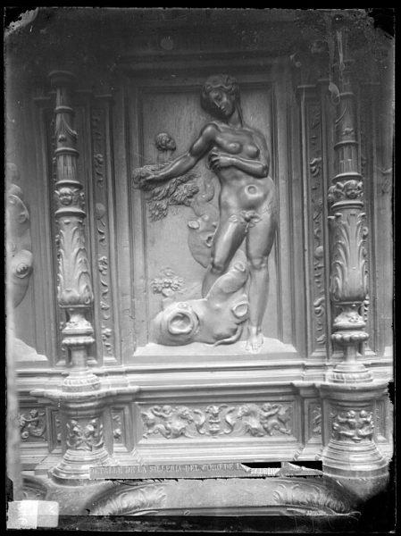 Catedral-Imagen de Eva en la sillería alta del coro_CA-0150-VI