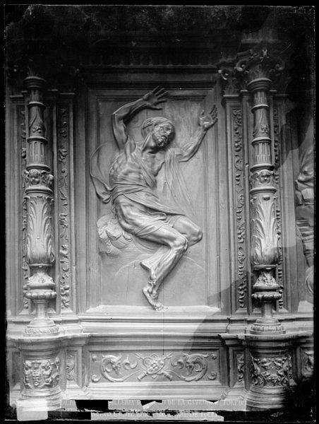 Catedral-Imagen de Job en la sillería alta del coro_CA-0151-VI