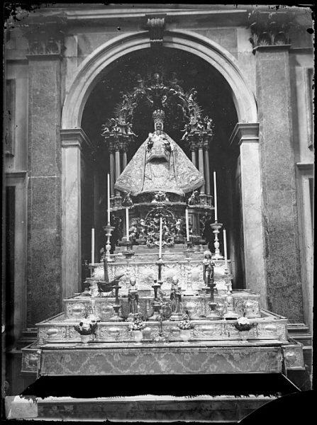 Catedral-Imagen de la Virgen del Sagrario en la Capilla del Sagrario_CA-0300-VI