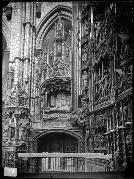 Catedral-Interior de la Capilla Mayor_CA-0078-VI
