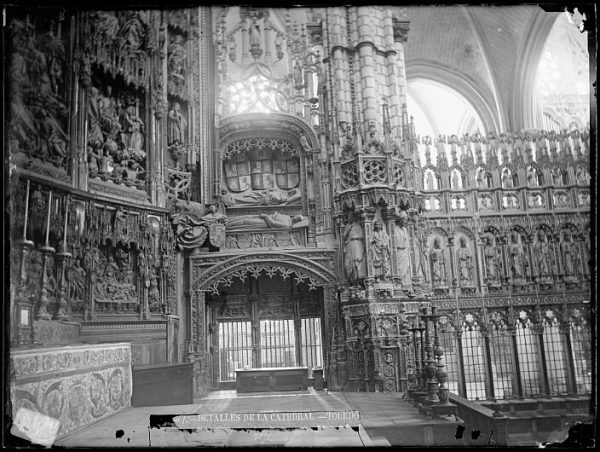 Catedral-Interior de la Capilla Mayor_CA-0079-VI