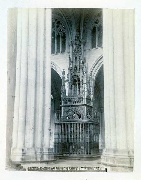 Catedral-Naves - Capilla de la Descensión de la Virgen-Colección Luis Alba_LA-133054-PA