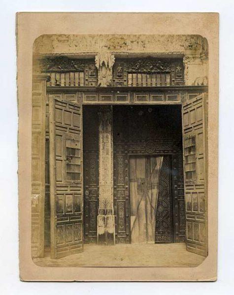 Catedral-Puerta de la Feria o del Reloj - Detalle-Colección Luis Alba_LA-234060-PA