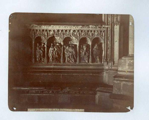 Catedral-Puerta de los Leones - Interior-Colección Luis Alba_LA-233006-PA