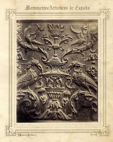 Catedral-Puerta de los Leones - Tablero del Renacimiento-Colección Luis Alba_LA-732019-PA