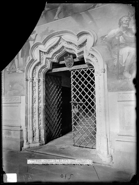 Catedral-Puerta del claustro_CA-0100-VI