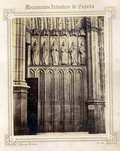 Catedral-Puerta del Perdón - Detalle-Colección Luis Alba_LA-332013-PA