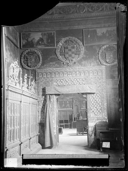 Catedral-Puerta interior de la Sala Capitular_CA-0275-VI