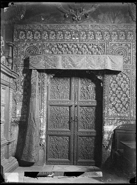 Catedral-Puerta interior de la Sala Capitular_CA-0282-VI