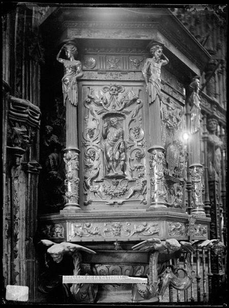 Catedral-Púlpito de la Capilla Mayor_CA-0062-VI