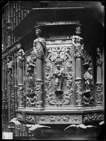 Catedral-Púlpito de la Capilla Mayor_CA-0063-VI