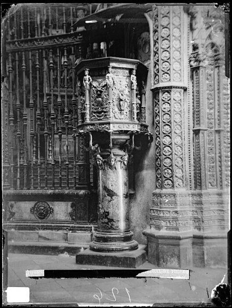 Catedral-Púlpito de la Capilla Mayor_CA-0064-VI