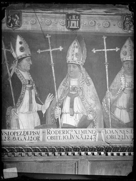 Catedral-Retrato de cardenal Rodrigo Jiménez de Rada en la Sala Capitular_CA-0272-VI