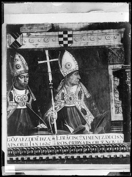Catedral-Retrato del cardenal Francisco Jiménez de Cisneros en la Sala Capitular_CA-0273-VI