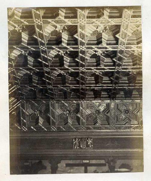 Catedral-Sala Capitular - Detalle del Artesonado-Colección Luis Alba_LA-333051-PA
