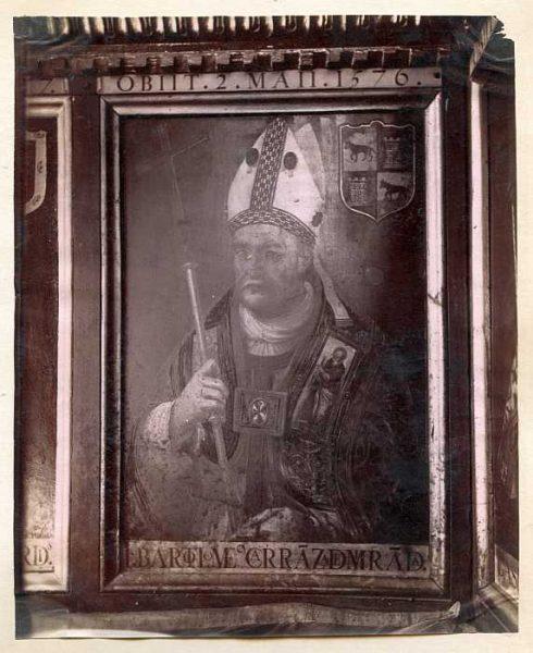 Catedral-Sala Capitular - Retrato de cardenal Bartolomé Carranza de Miranda-Colección Luis Alba_LA-437059-PA