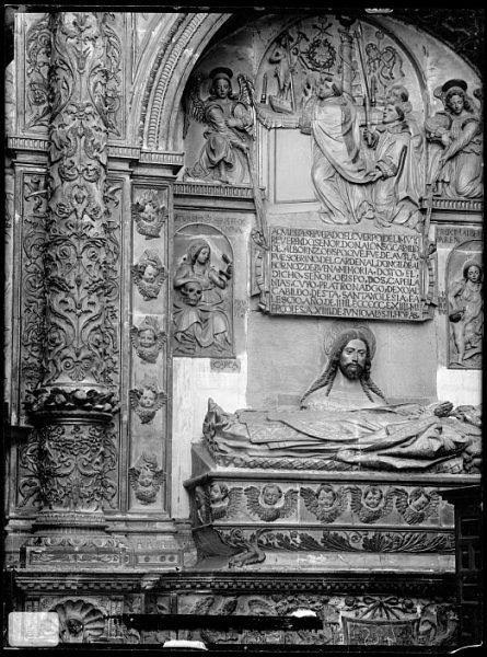 Catedral-Sepulcro de D Alonso Carrillo de Albornoz en la capilla de San Ildefonso_CA-0285-VI