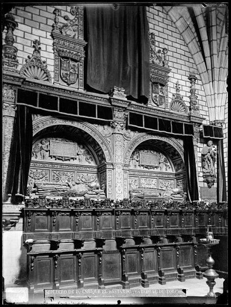 Catedral-Sepulcro de Don Enrique II en la Capilla de Reyes Nuevos_CA-0088-VI