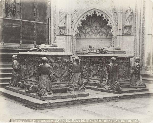 Catedral-Sepulcros de Don Álvaro de Luna y de su mujer Doña Juana_CA-0309-PA