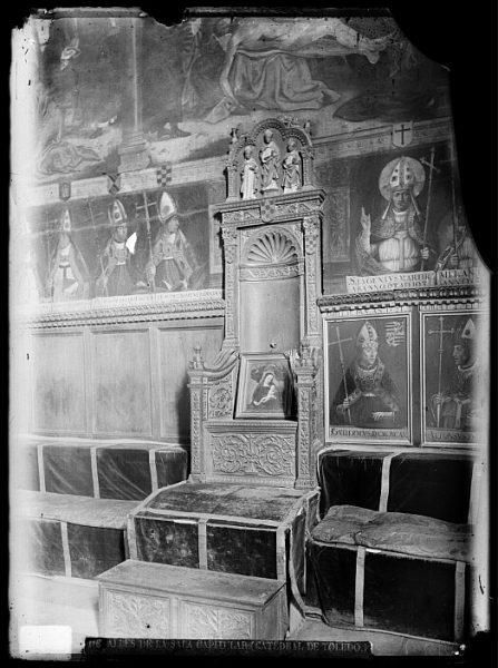 Catedral-Silla arzobispal en la Sala Capitular_CA-0271-VI