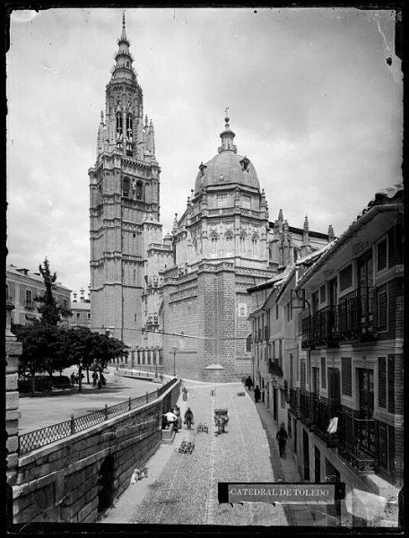Catedral-Vista de la fachada principal desde la calle de la Ciudad_CA-0166-VI