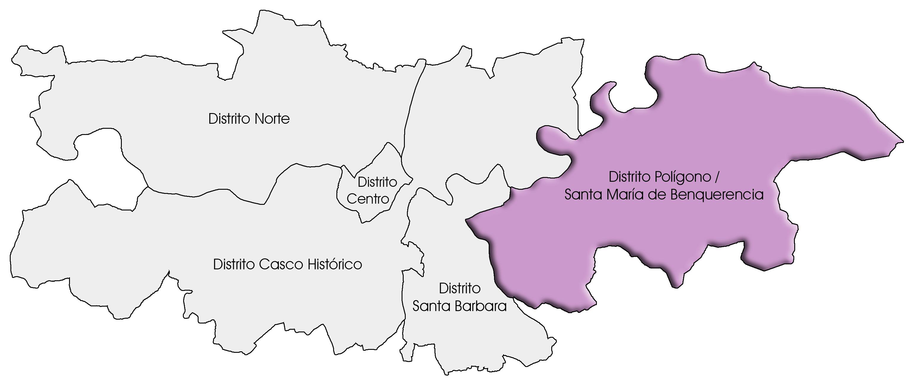 Distrito Polígono - Santa María de Benquerencia