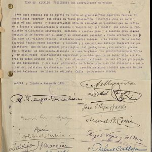 5. ¿Cómo firmaban Marañón, Azorín, Zuloaga, Ortega y Gasset...?