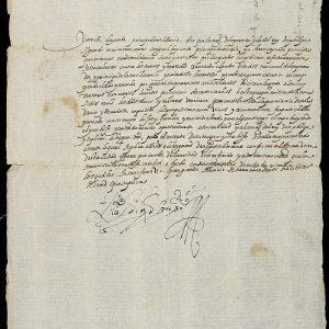 14. Un moldavo pide ayuda a Toledo para liberar a su familia apresada por los turcos