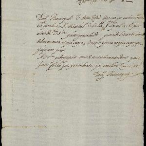 32. ¿Carta del Greco o de su hijo Jorge Manuel?
