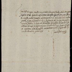 35. Juan Bautista Monegro, maestro mayor de las obras del Alcázar