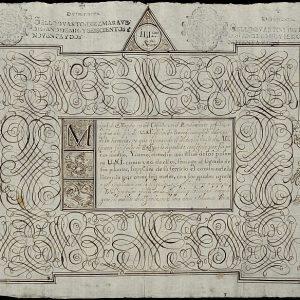 36. La caligrafía de los maestros de letras de Toledo
