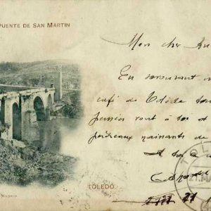 52. ¿Cuándo se circuló la primera postal ilustrada toledana?