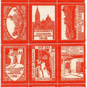 57. La excursión a Toledo de los miembros del Ateneo de Barcelona en 1916 y las viñetas de F. Tubau