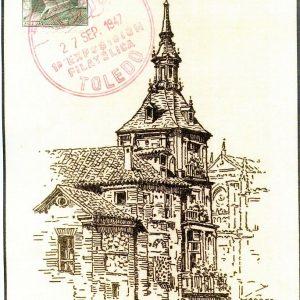 59. La primera exposición filatélica provincial de Toledo (1947)
