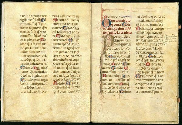 El Libro de los Privilegios de Toledo 16