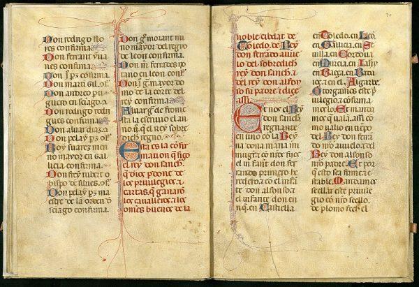 El Libro de los Privilegios de Toledo 22