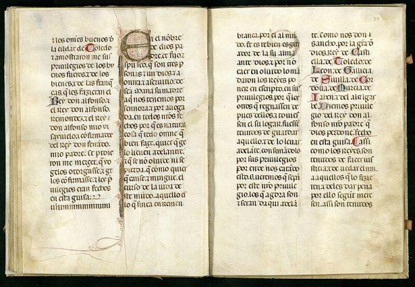 El Libro de los Privilegios de Toledo 25