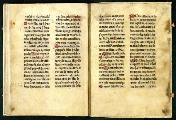 El Libro de los Privilegios de Toledo 38