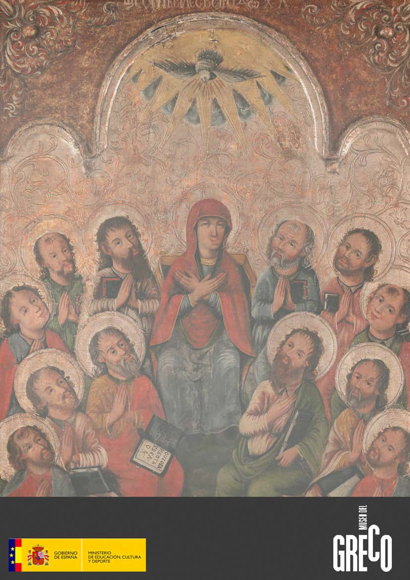 """Recorridos: """"Iconos bielorrusos en el Museo del Greco""""."""
