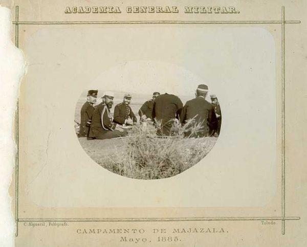 LA-0136031-PA_Academia General Militar-Campamento de Majazala - Mayo 1885-Colección Luis Alba